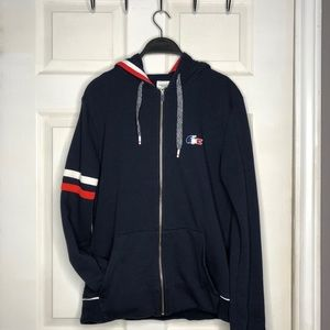 """Lacoste """"France"""" Zip Up Sweater"""